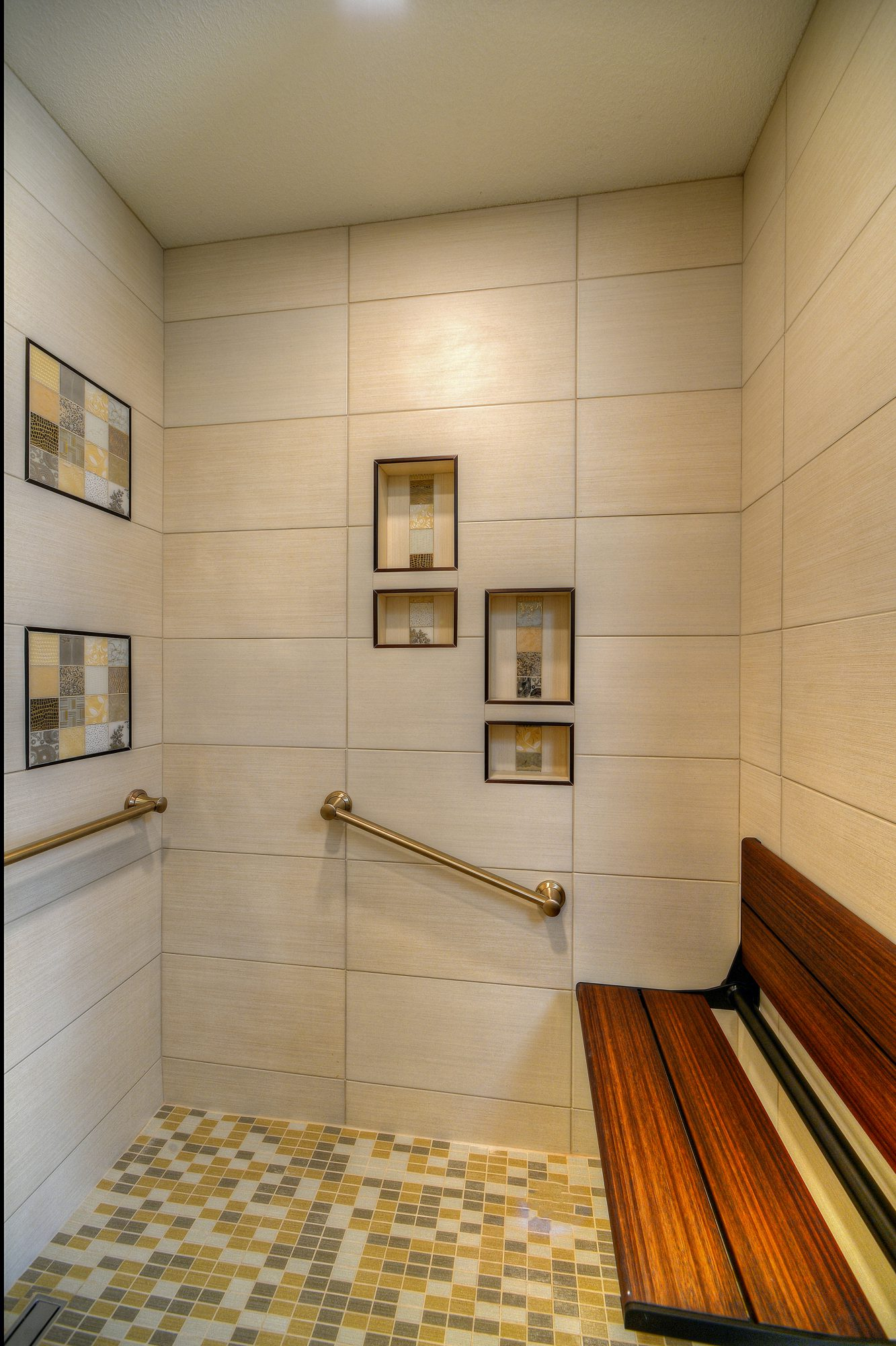 Scottsdale aging in place remodel dementia supportive for Ada compliant hallway