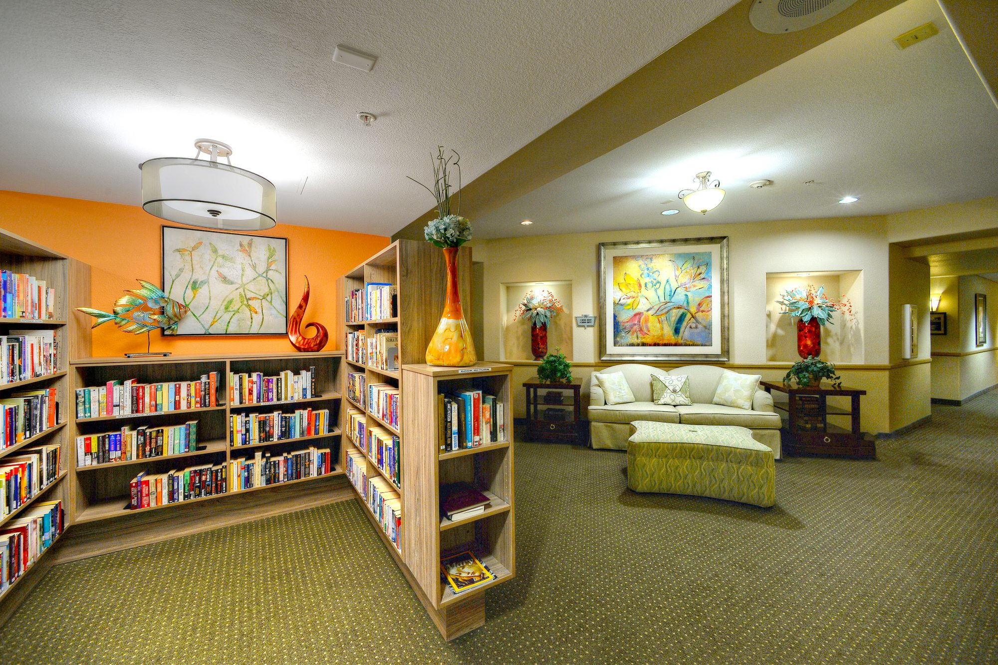 Independent U0026 Assisted Living Community New Library